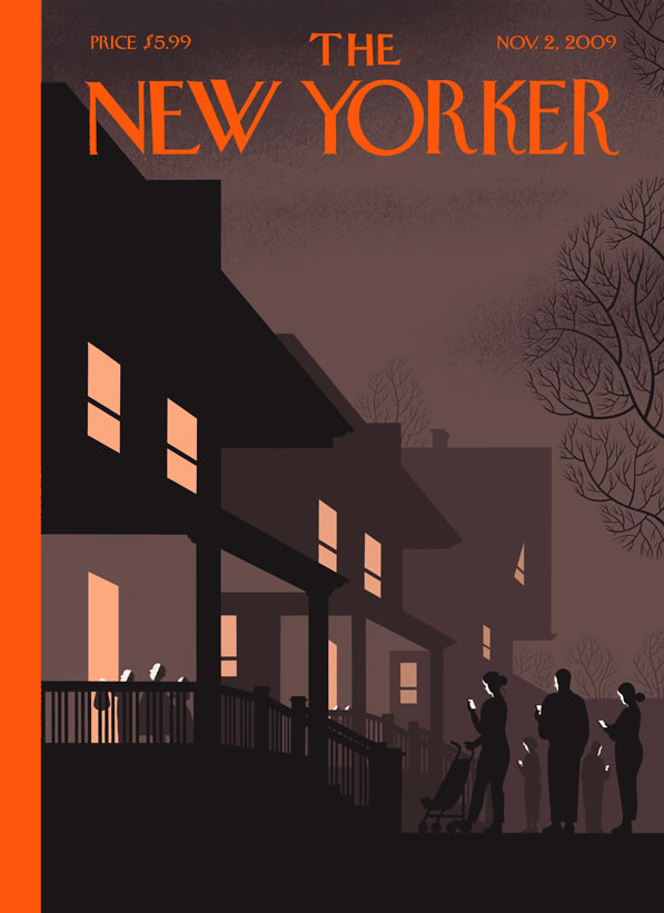 The New Yorker - Halloween cover 2009